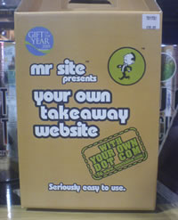 Mr Site. No 'h' in there, no siree