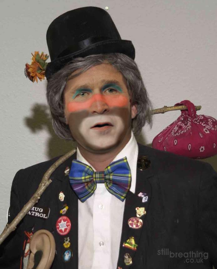 bush clown