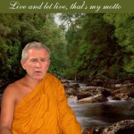 "Can't We All Just Get Along? by George ""Swami"" Bush"
