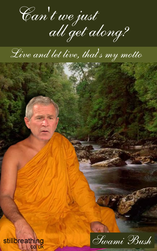 """Can't We All Just Get Along? by George """"Swami"""" Bush"""